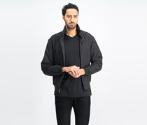 Mens Bomber Jacket, Black