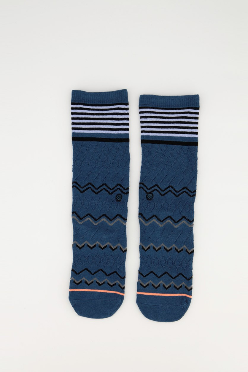 Everyday Light Cushion Classic Crew Socks, Navy Combo