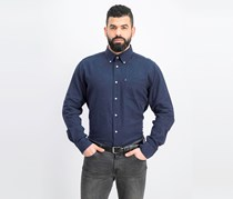 Barbour Mens Isaac Shirt, Navy