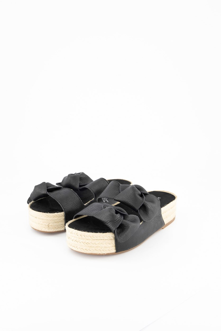 Women's Izbremma Slide Sandals, Black
