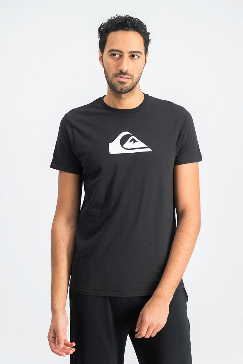 Men's Premium Fit Mountain Wave T-Shirt, Black
