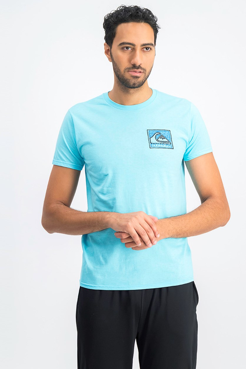 Men's Premium Fit Hell Box T-Shirt, Sky Blue