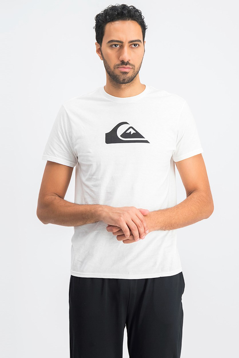 Men's Premium Fit Mountain Wave Classic T-Shirt, White