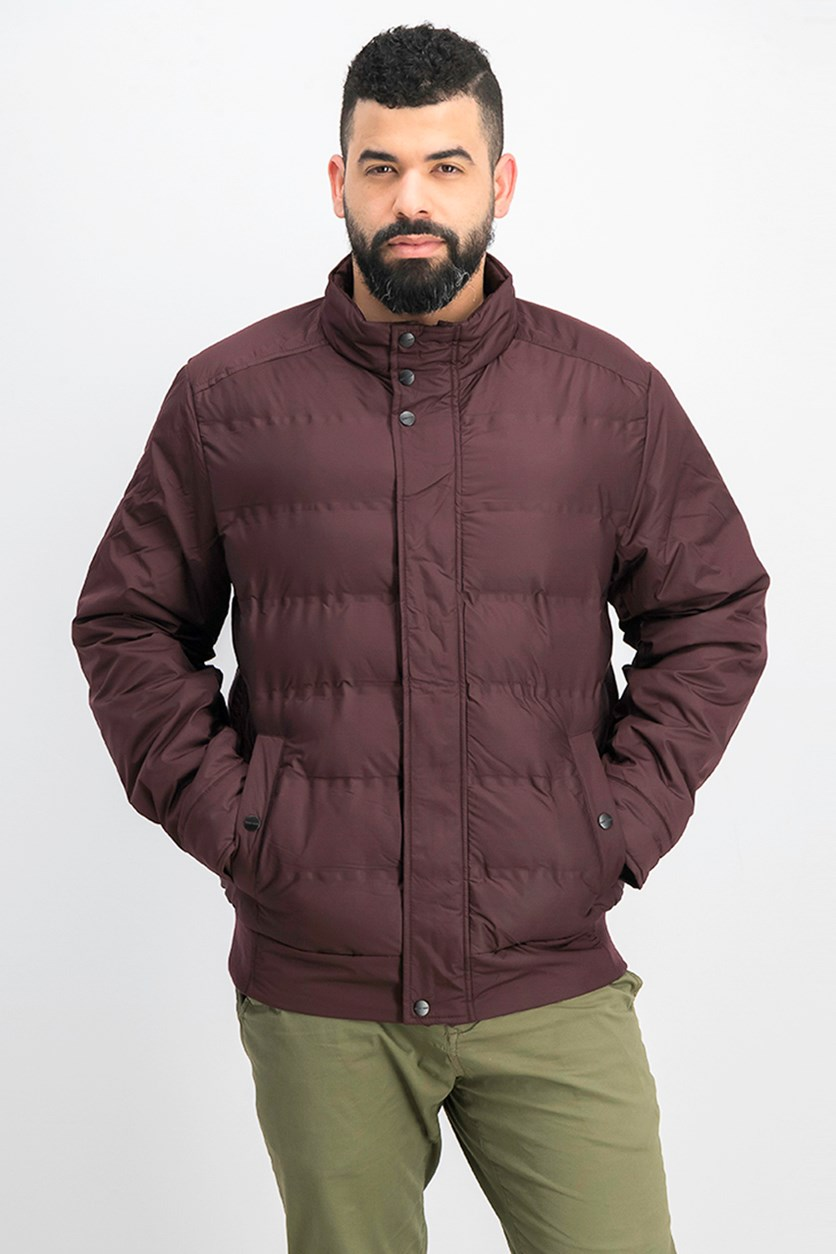 Men Puffer Jacket, Port