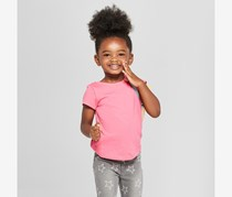 Cat & Jack Toddlers Tops, Paradise Pink