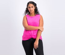 A New Day Women's Twist Front Tank Top, Pink