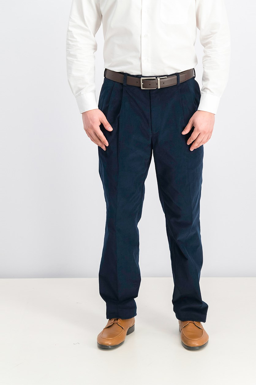 Men's Corduroy Pants, Dark Teal