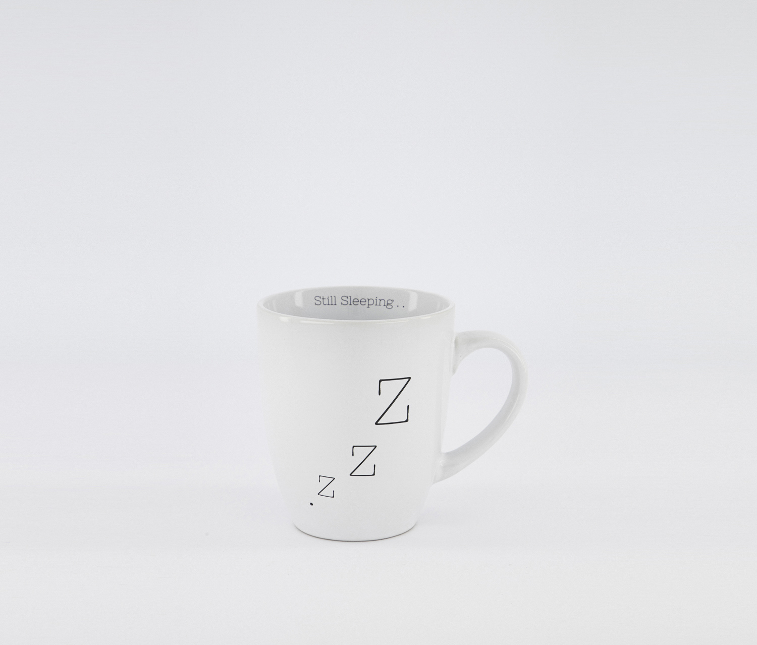 Still Sleeping 16oz Mugs, White