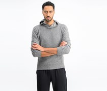 Calvin Klein Jeans Men's Brushed Cozy Crossover Hoodie Sweaters, Gary