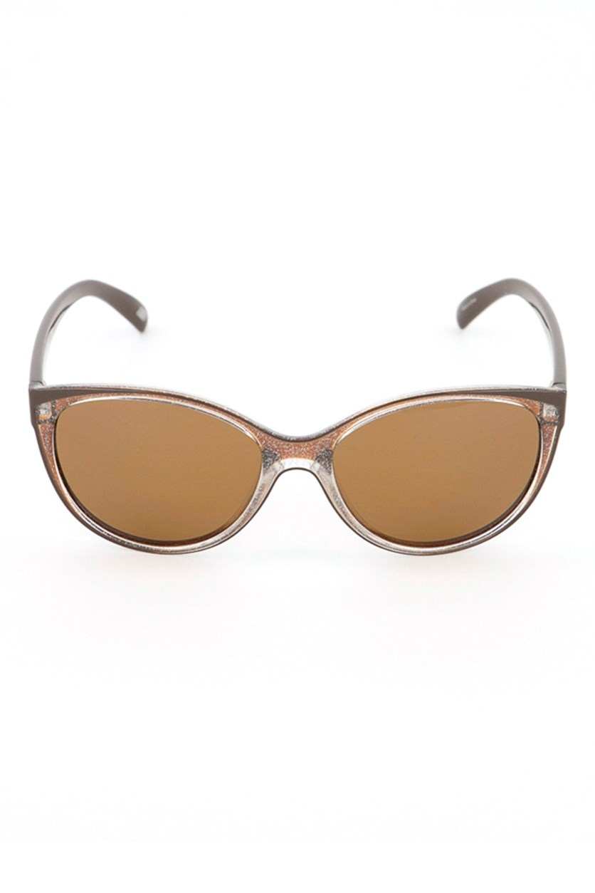 SE4139 48H Women's Sunglasses, Brown Glitters
