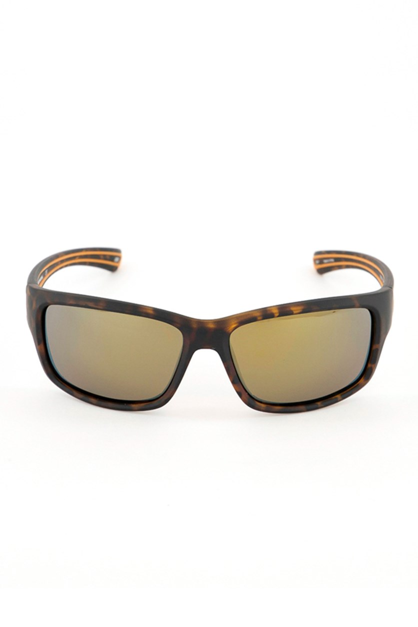 SE5131 52H Men's Polarized Sunglasses, Brown/Orange