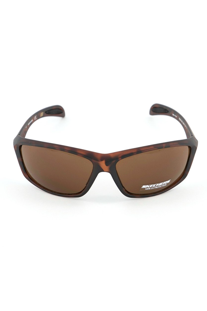 SE8035 56E Men's Sunglasses, Dark Brown