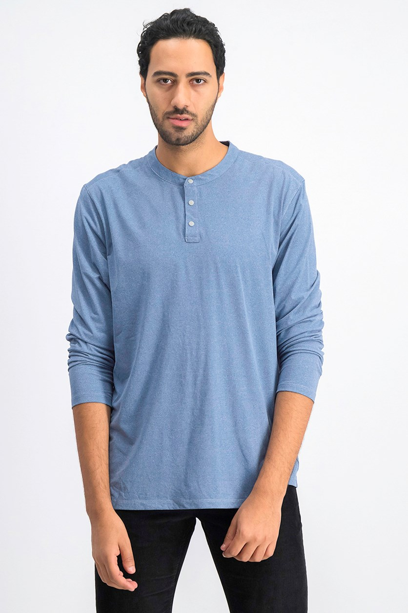 Men's Cool Fx Henley, Navy