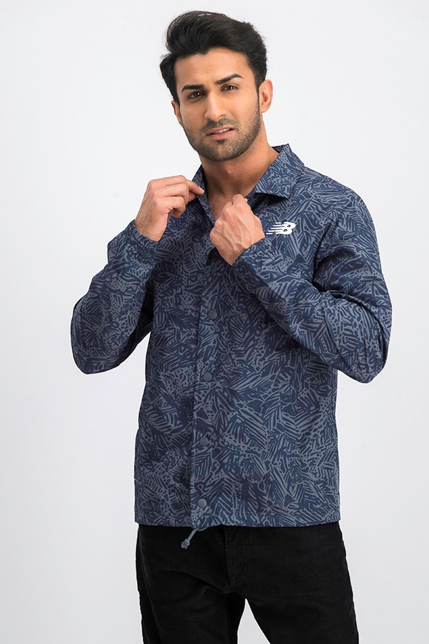 Men's Coach Jacket, Navy