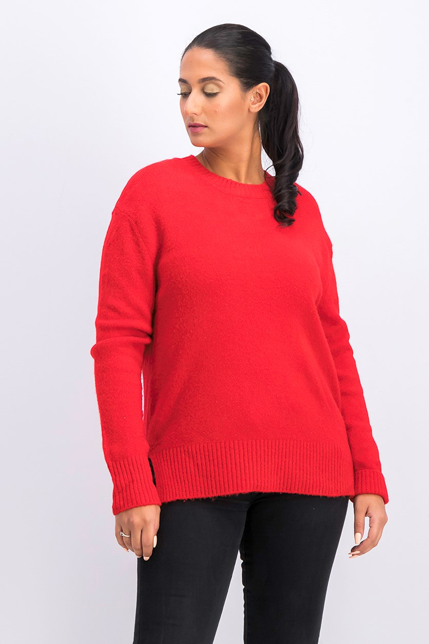 Women's Sweater, Red