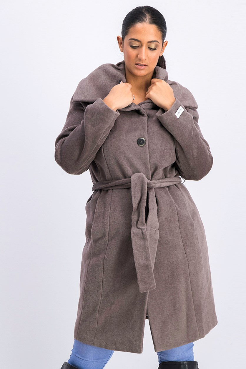 Women's Outerwear Coat, Grey