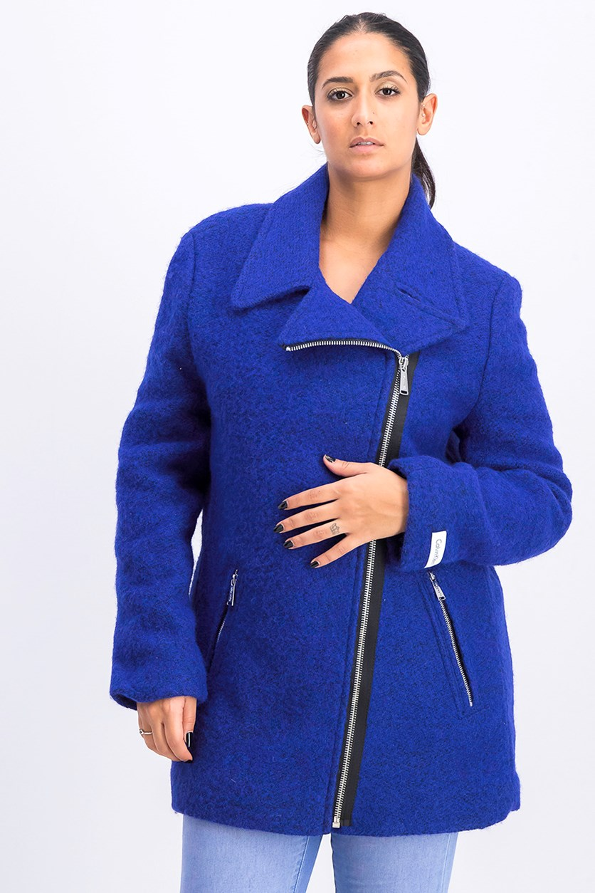 Women's Outerwear Coat, Blue