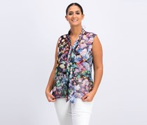 Marciano Women's Floral Top, Purple Combo