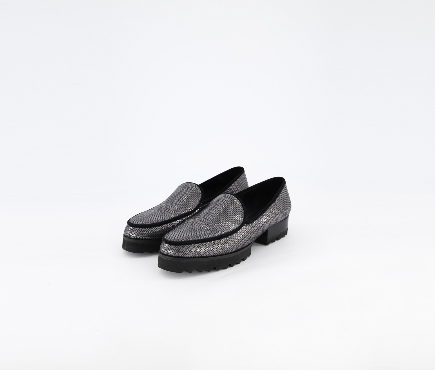 Women's Elen Loafer Casual Shoes, Carbon