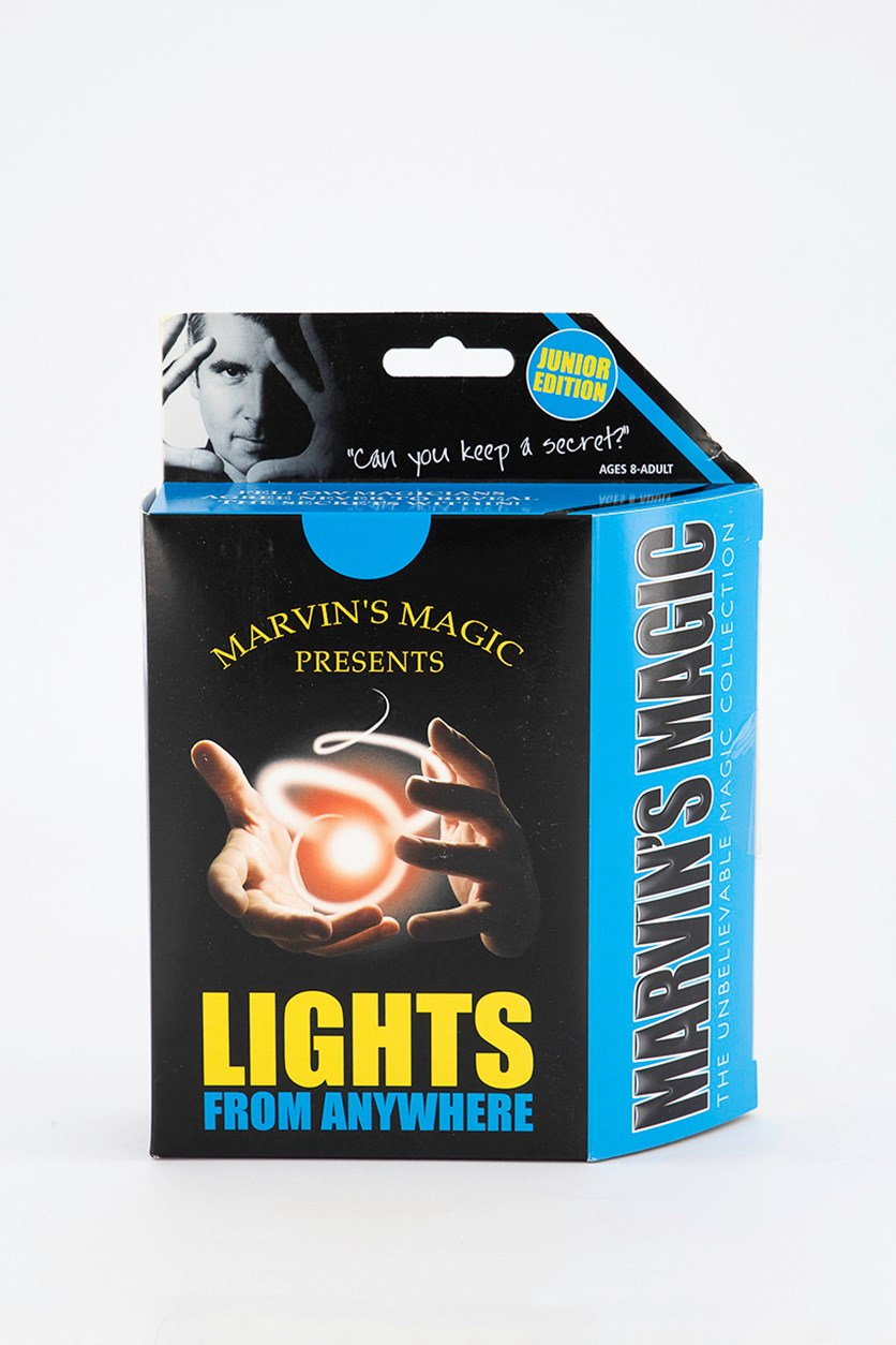 Adult Lights from Anywhere Tricks, Blue/Black