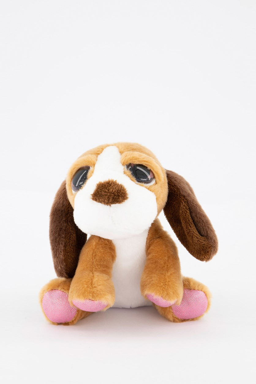 Lil Peepers Baxter with Pink Sparkle Accents, Brown