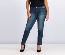 STS Blue Embroidered Emma Ankle Skinny Jeans, Wood