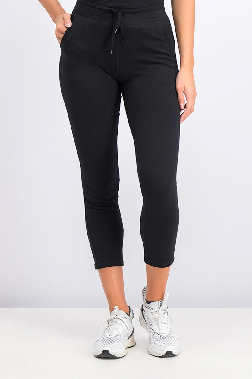 Women's French Terry Pant, Black