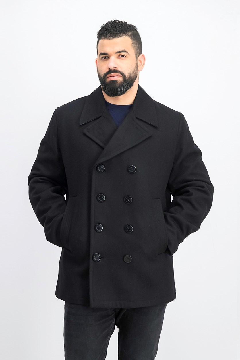 Men's Trench Coat, Black