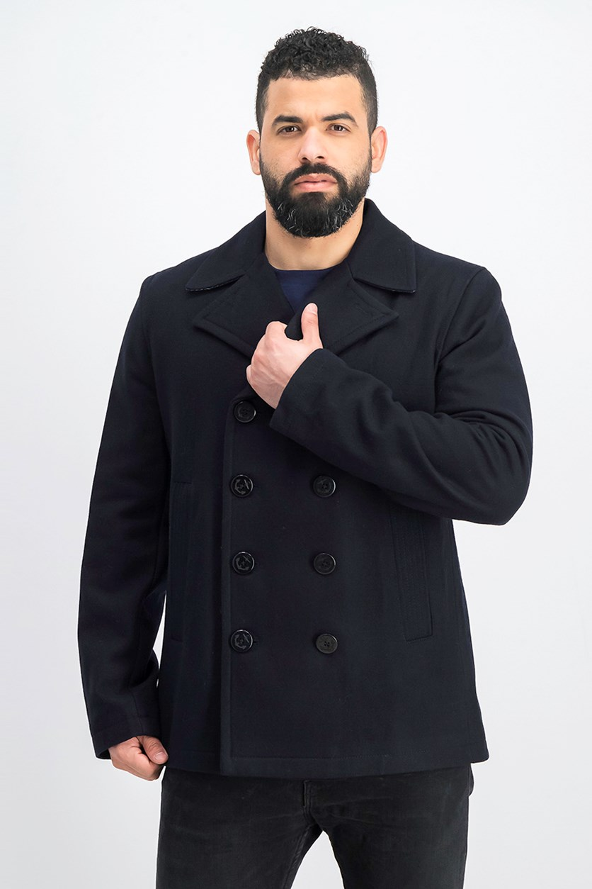 Men's Trench Coat, Office Navy