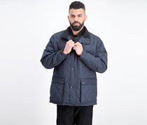 Men's Arietta Diamond Quilted Field Coat, Navy