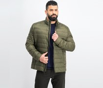 Men's Quilted Jacket, Olive