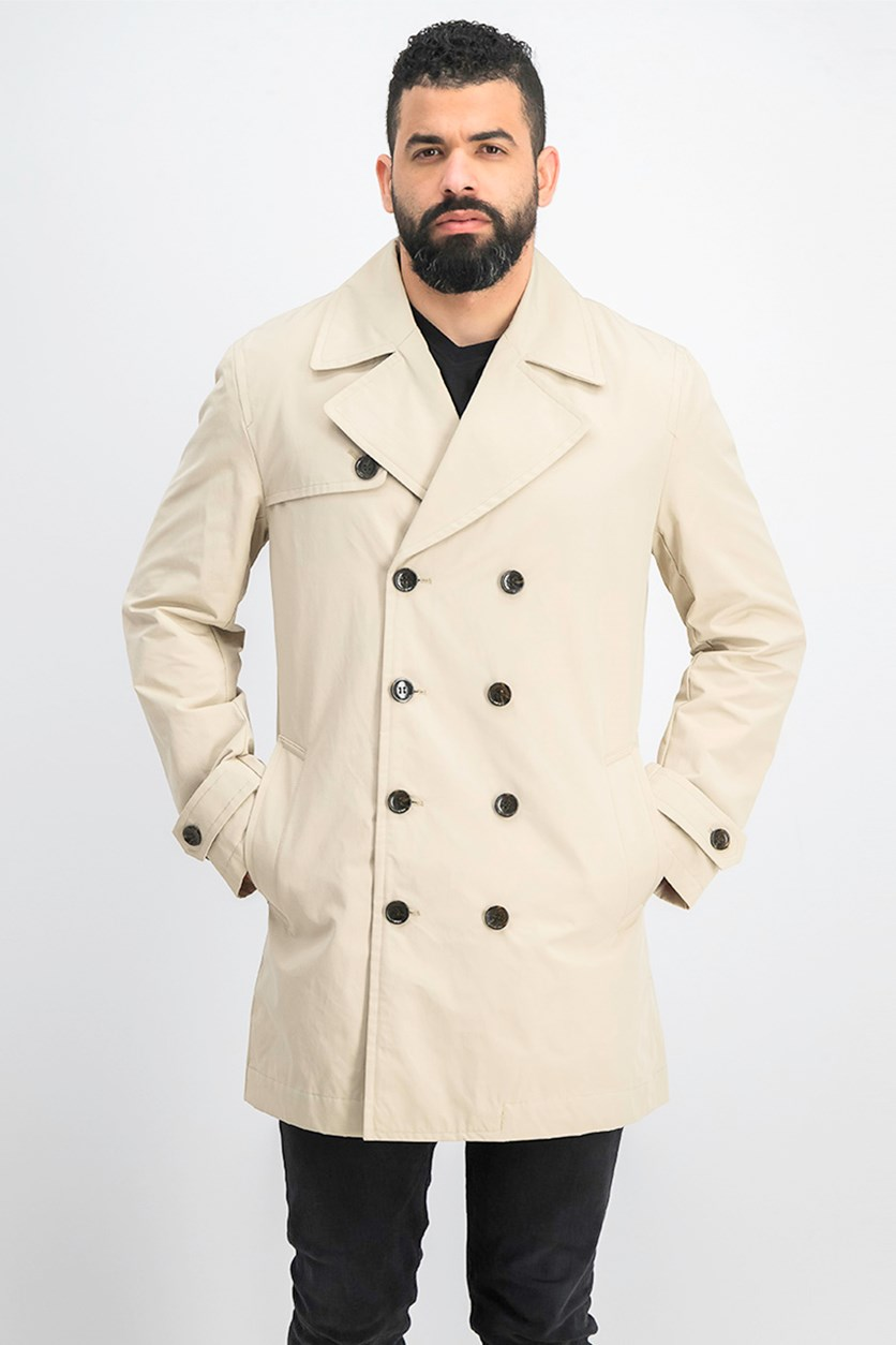 Men's Trench Coat, Light Sand