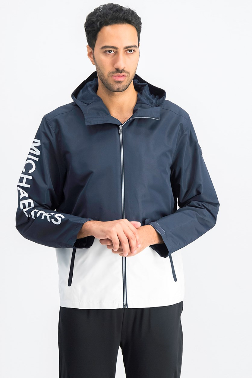 Men's Hoodie Jacket, Midnight Blue