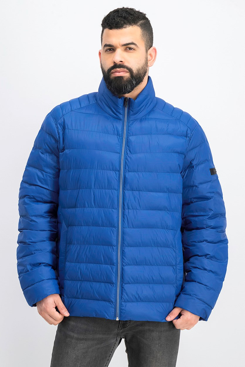 Men's Quilted Jacket, True Blue