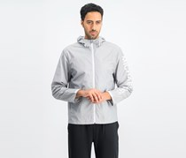 Men's Hoodie Jacket, Light Heather Grey