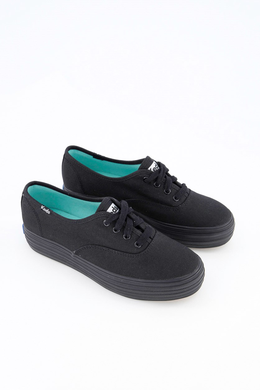 Women's Keds  Triple Core Sneaker, Black