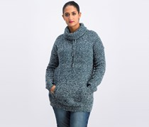 Evolution By Cyrus Knitted Sweater, Teal Combo