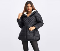 Women's Quilted Jacket, Black