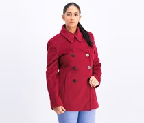 Calvin Klein Women's Outerwear Coat, Red