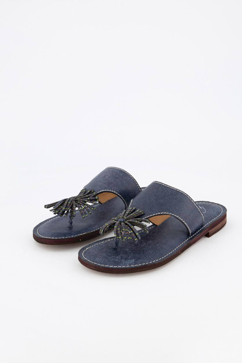 Women's Dixie Dress Sandals, Navy