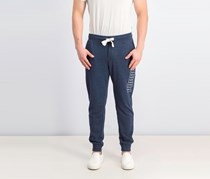 Puma Men's Terry Pants, Dark Blue