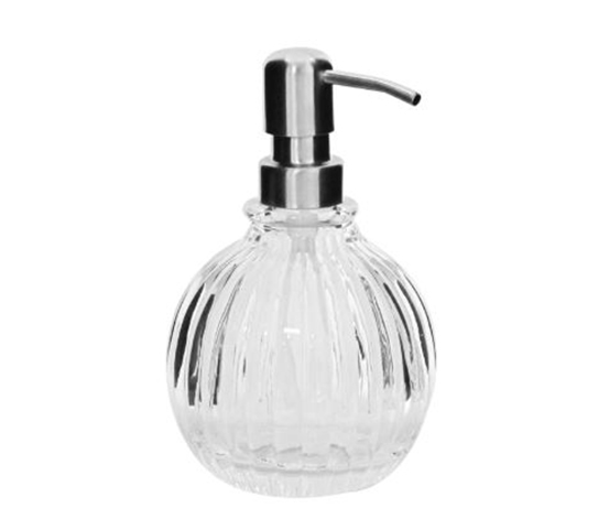Fifth Avenue Crystal Fluted Glass Lotion Pump