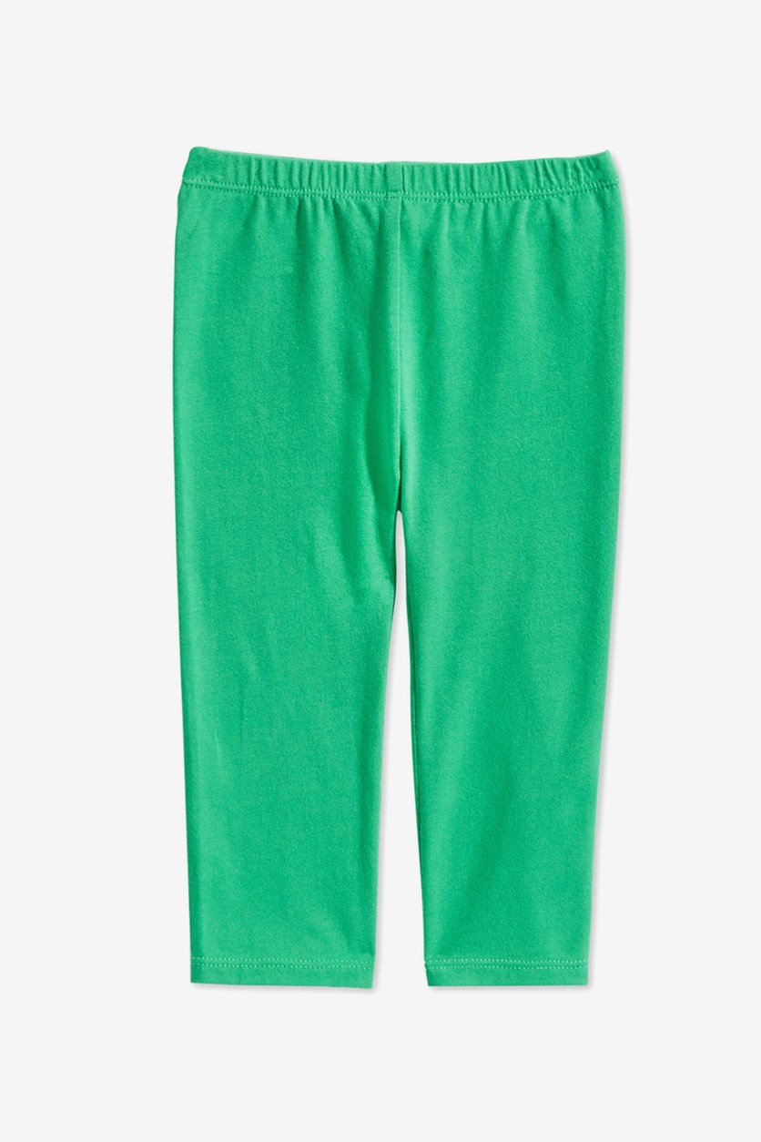 Toddler Girl's Leggings, Green