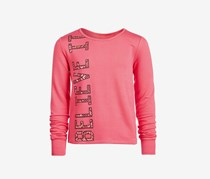 Ideology Big Girls Graphic-Print Sweatshirt Flamingo Pink