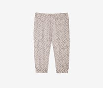 Baby Girls Pull-On Jogger Pants, Scatter Grey
