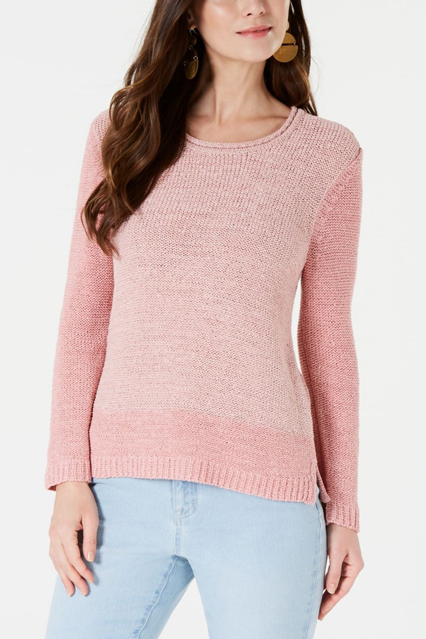 Women's Knit Sweater, Pink