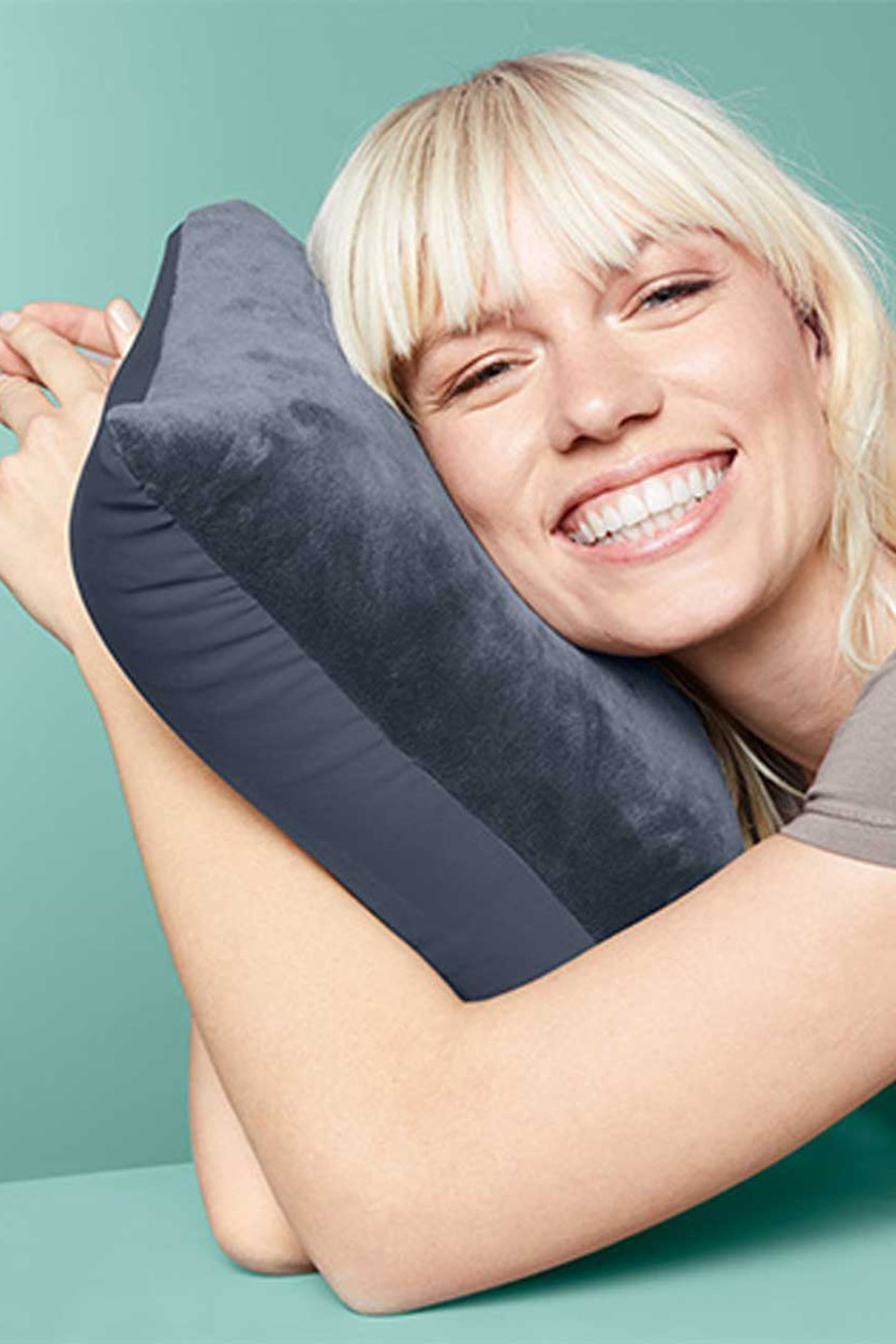 2 In 1 Travel Pillow, Navy