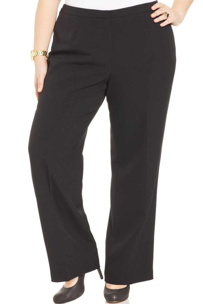 Plus Size Dress Pants, Black