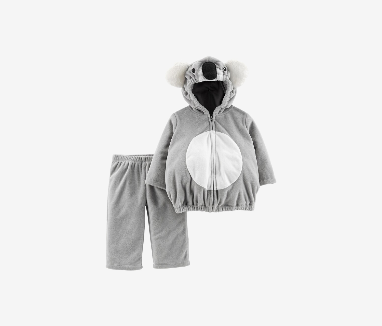 Baby Girl Koala Bear Halloween Costume, Grey