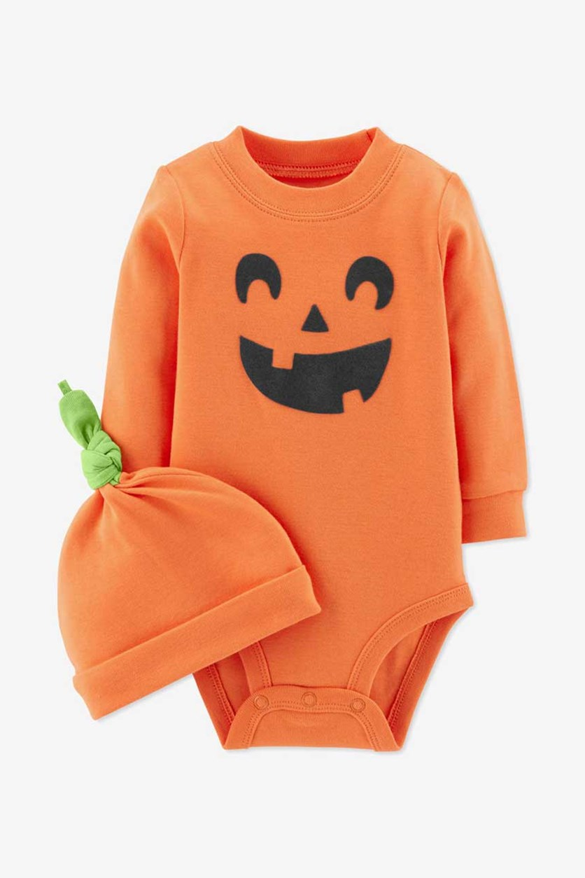 Toddler Halloween Bodysuit, Orange